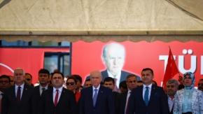 MHP Lideri Bahçeli, Alanya'da