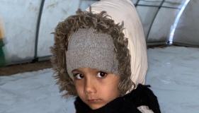 MHP Lideri Bahçeli'nin göçmen kreşine yardım tırı bölgeye ulaşt