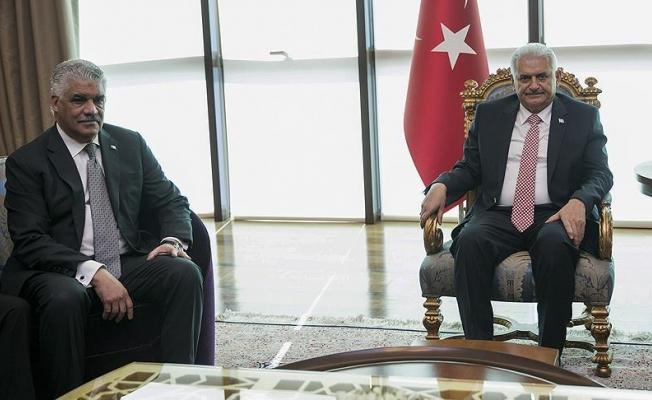 Başbakan Yıldırım, Dominik Cumhuriyeti Dışişleri Bakanı Vargas'ı kabul etti