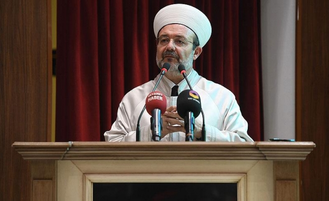 Diyanet İşleri Başkanı Görmez: İslam beldeleri selamı kaybetti