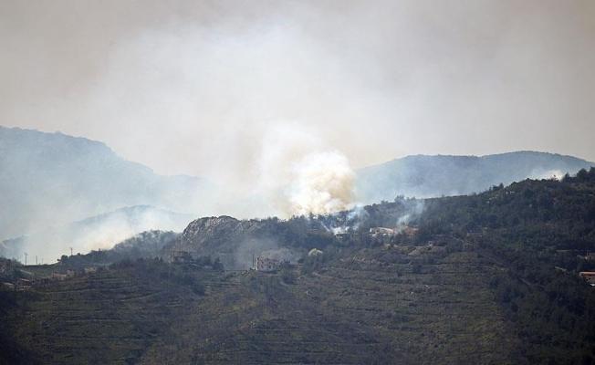 Esad rejimi Türkmendağı'nı top atışına tutuyor