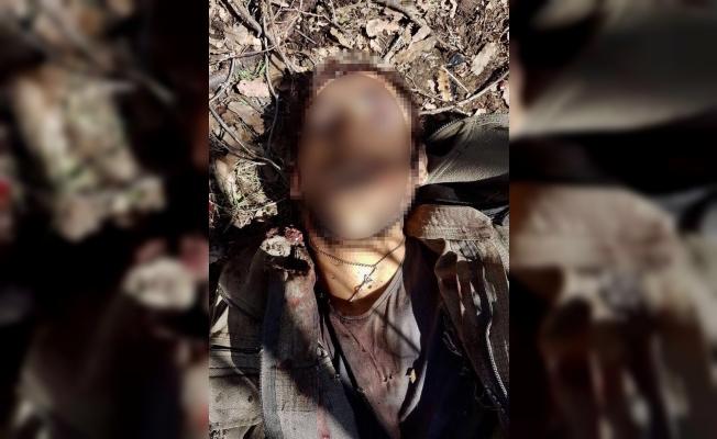 """Öldürülen teröristten """"haç şeklinde kolye"""" çıktı"""