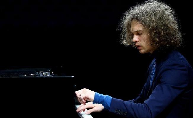 Piyanist Libeer Ankaralılara müzik ziyafeti verdi