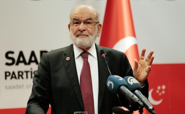 Saadet Partisi Genel Başkanı Karamollaoğlu: Problemlerin çözümü sokakta aranmamalı