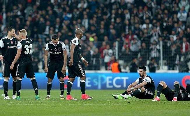Teşekkürler Beşiktaş! Avrupa Ligi'nde yarı final penaltılarla kaçtı..