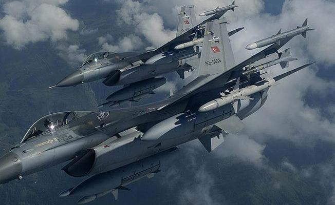 TSK'dan hava harekatı: 16 terörist etkisiz hale getirildi