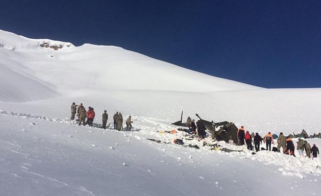 Tunceli'de düşen helikopterin enkazı Ankara'ya gönderildi