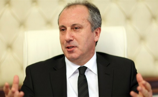 Muharrem İnce CHP Genel Başkanlığı'na aday oldu