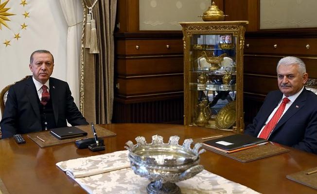 Erdoğan ve Yıldırım arasında 3 saatlik görüşme
