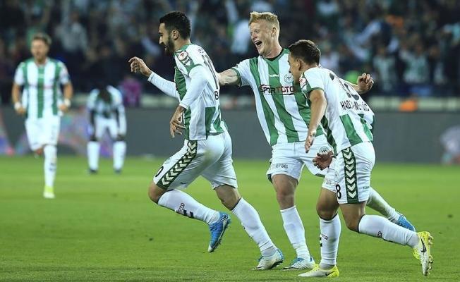 Konyaspor Ziraat Türkiye Kupası'nda finale yükselen ilk ekip