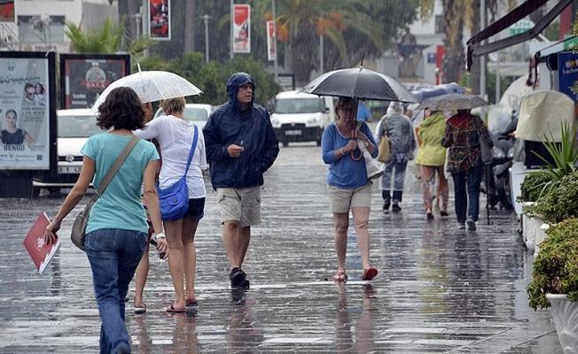 Meteorolojiden 11 il için kuvvetli yağış uyarısı