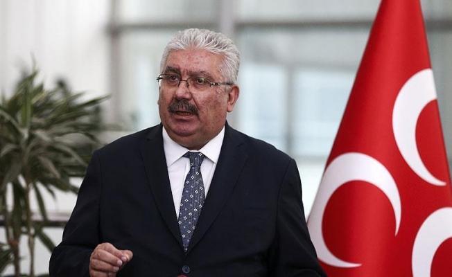 MHP'li Yalçın: Yeni politik safhaya hazırız mesajı verilecek