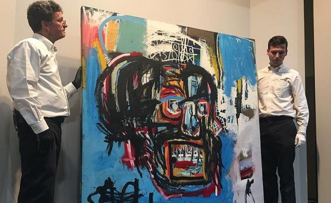 Ressam Basquiat'ın müzayede rekoru: 110,5 milyon dolar