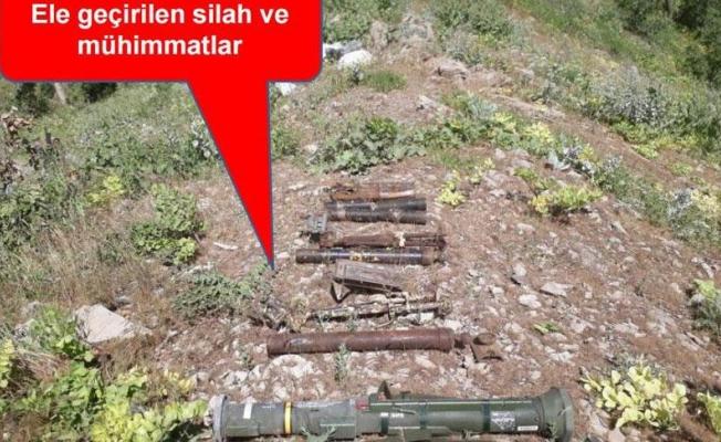 Şırnak'ta AT-4 tanksavar füzesi ele geçirildi