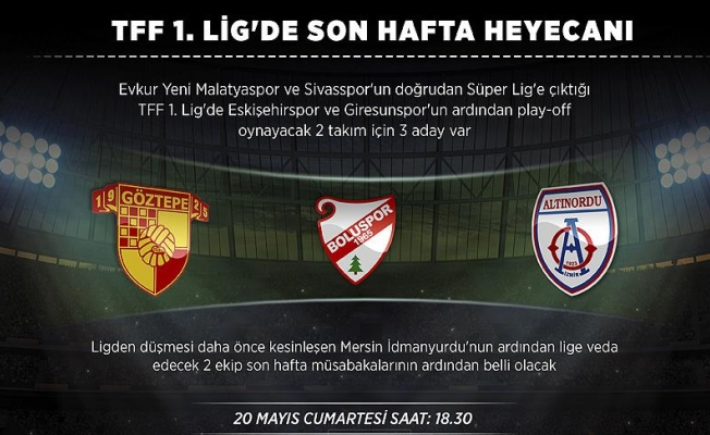 TFF 1. Lig'de normal sezon tamamlanıyor