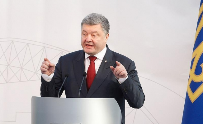 Poroşenko: Kırım'ın geri alınmasında kararlıyız