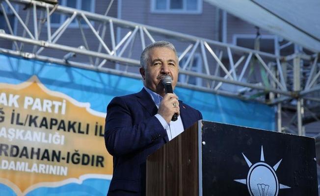 Bakan Arslan: 1915 Çanakkale Köprüsü dünyanın en uzun asma köprüsü olacak