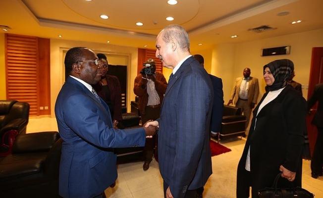 Başbakan Yardımcısı Kurtulmuş Kongo Cumhuriyeti'nde