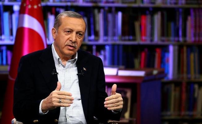 Cumhurbaşkanı Erdoğan Arnavutluk televizyonuna konuştu