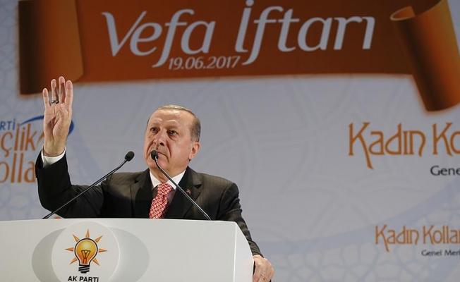 Cumhurbaşkanı Erdoğan: İstismarla adalet aranmaz