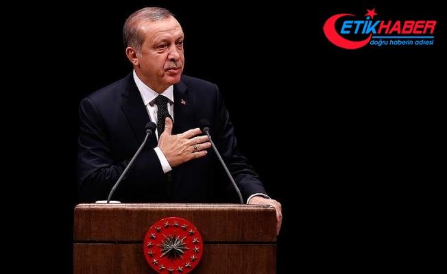 """Cumhurbaşkanı Erdoğan """"Kur'an-ı Kerim'i Güzel Okuma Yarışması"""" finaline katıldı"""