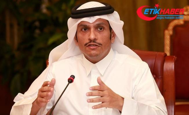 Katar Dışişleri Bakanı Al Sani: Karadavi'yi teslim etmeyeceğiz