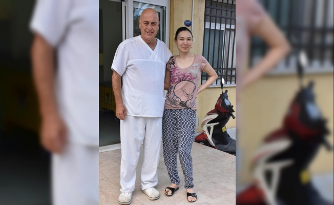 Kırgızistanlı Elgisa, İzmir'de sağlığına kavuştu