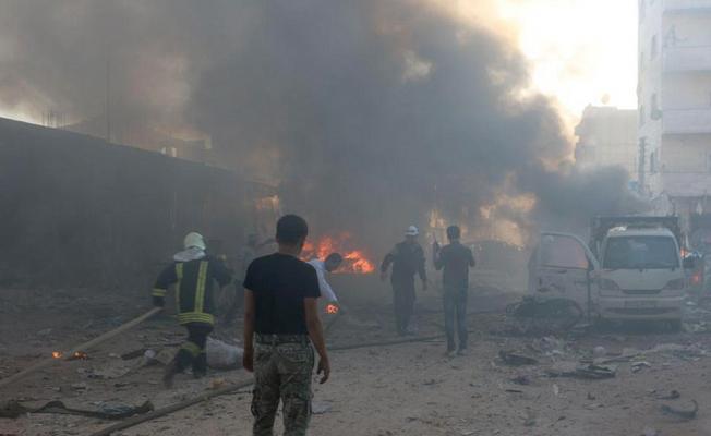 İdlib'de patlama: 10 ölü, 16 yaralı