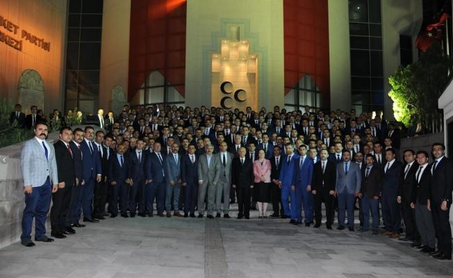 Ülkü Ocakları'nın iftarı MHP Lideri Bahçeli'nin katılmıyla gerçekleşti