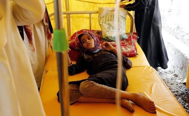 Yemen'deki kolera salgınında ölenlerin sayısı bin 54'e yükseldi