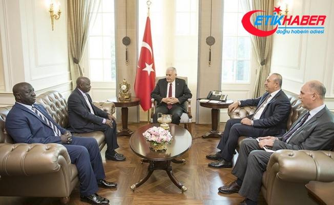 Başbakan Yıldırım, Gambiyalı Bakan Darboe'yi kabul etti