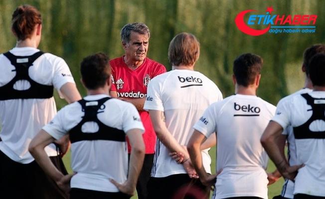 Beşiktaş'ta kamp dönemi yoğun geçti
