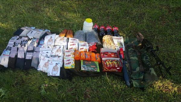 Bingöl'de yakalanan PKK'lı ile birlikte sığınak, mevzi ve depolarda tespit edildi