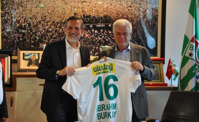 Bursaspor'a 20 bin kombine bilet desteği