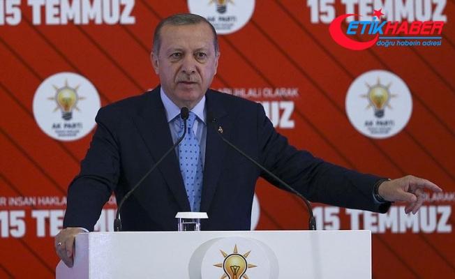 Cumhurbaşkanı Erdoğan: Terörle mücadelede hedefe ulaştığımızda OHAL'i kaldıracağız
