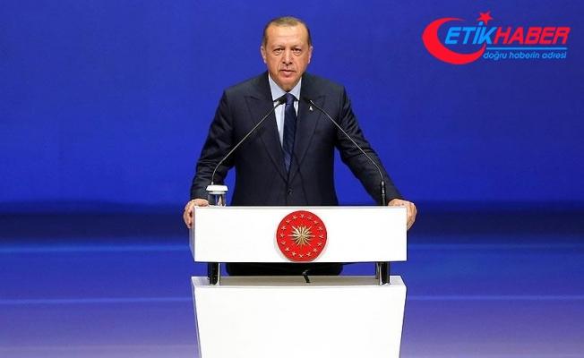 Erdoğan: Terör oluşumunun kalbine soktuğumuz hançeri genişletmekte kararlıyız