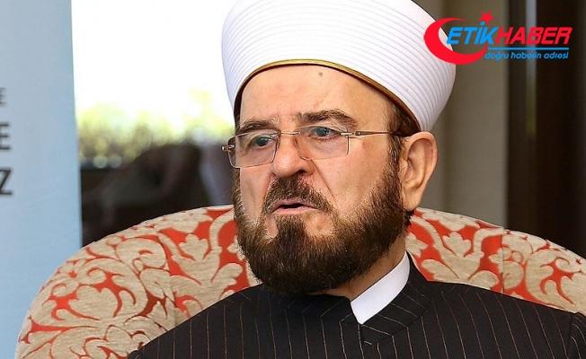 'Din adamları boykota değil, barış ve kardeşliğe çağırmalıdır'
