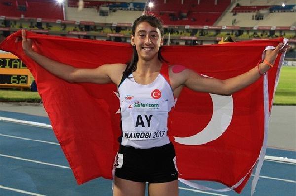 """Dünya şampiyonu atlet Mizgin Ay: """"Madalyamı, tüm şehit, gazilerimiz ve güzel ülkemize armağan ediyorum"""""""