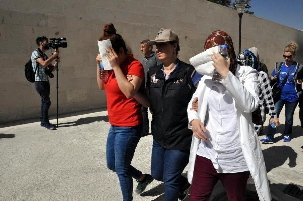 Elazığ'da adliyeye sevkedilen 13 kişi FETÖ'den tutuklandı