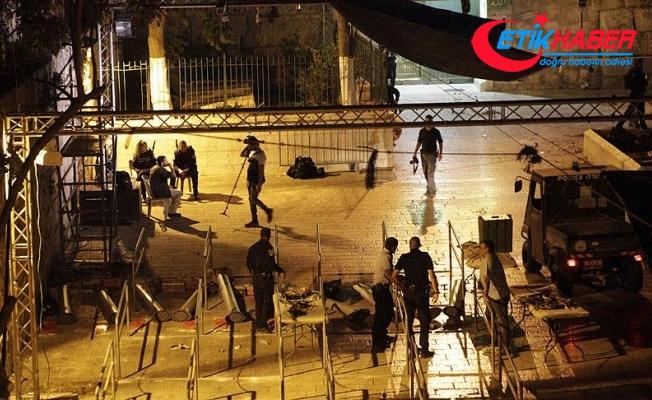 İsrail polisi bir Filistinliyi öldürdü
