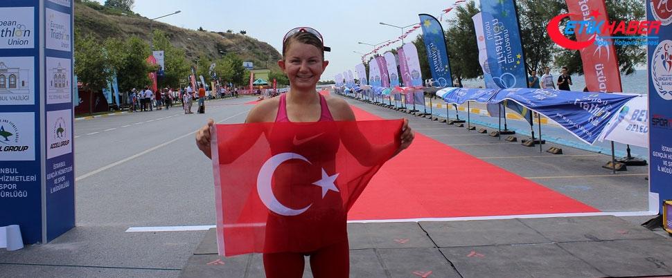 İstanbul Triatlon Avrupa Kupası Yarışları Beylikdüzü'nde yapıldı