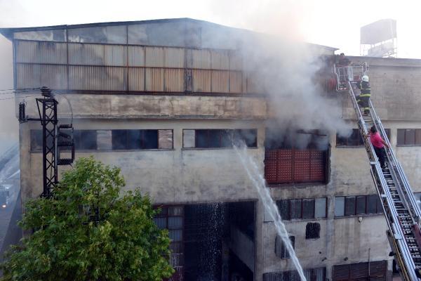 Kahramanmaraş'ta çelik fabrikasında yangın