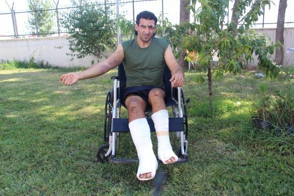 Meriç'te yaralı bulunan Cezayirli: Beni Yunan polisi dövdü