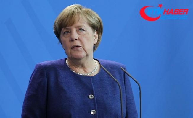 Merkel'den Katalonya açıklaması