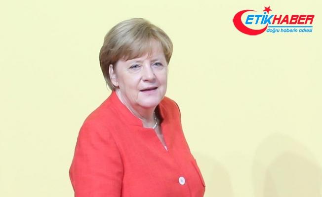 Merkel: ABD-Kuzey Kore krizinin askeri bir çözümle aşılabileceğine inanmıyorum