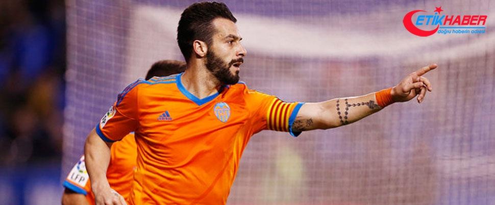Valencia, Negredo'nun Beşiktaş'a transferini açıkladı