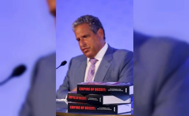 """Robert Amsterdam """"FETÖ"""" kitabını tanıttı"""