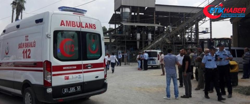 Adana'da yağ fabrikasında patlama: 1 ölü, 2 yaralı