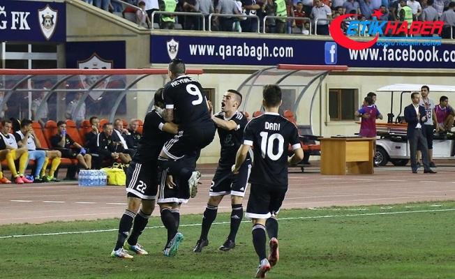 Azerbaycan temsilcisi Karabağ play-off turuna yükseldi