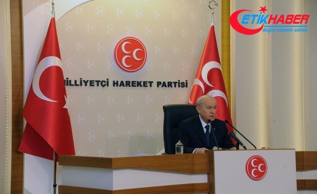 Bahçeli: Bu referandum Türkiye için gerekirse savaş sebebi sayılmalıdır
